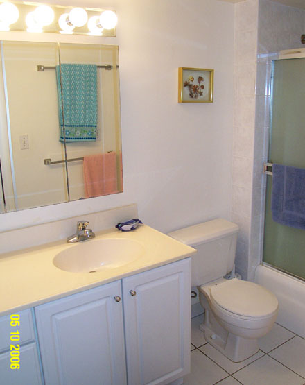 Unit #1710 Bathroom with Shower