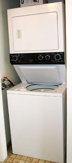Unit #1710 Stacked Washer/Dryer